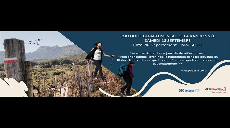 Colloque Départemental de la Randonnée - 18 septembre 2021